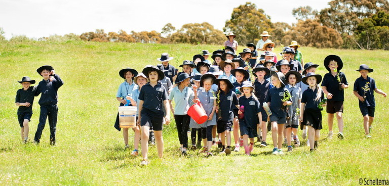 Landcare groups are now required to comply with new child safety measures. Pic Scheltema