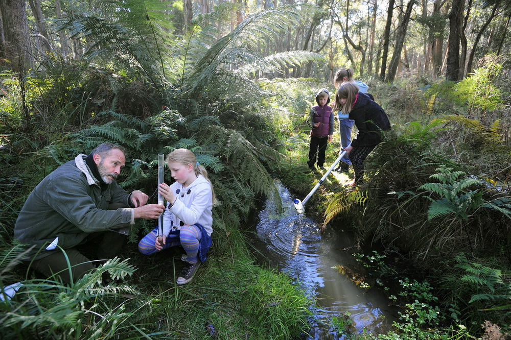 Landcare Groups being called on to run River Detectives Programs in Schools.