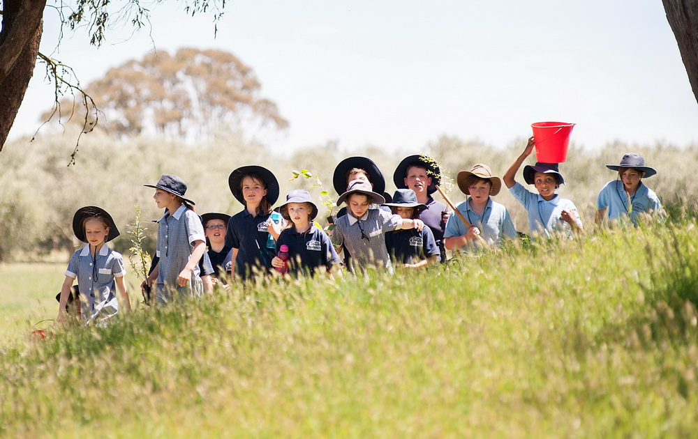 One Tree Per Child is part of the Australian Governments 20 Million Tree Program©Scheltema