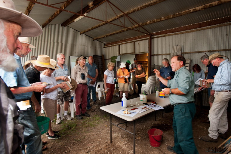 The UCLN hosted three workshops on Weed Management,Rabbit Control and Soil Health.